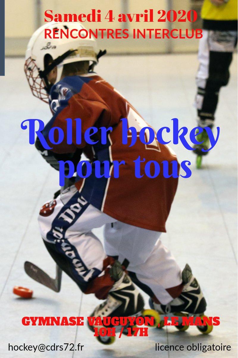 Rencontre interclubs roller hockey